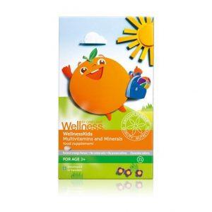 Suplementy dla dzieci. naturalne i zdrowe